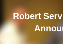 Robert Service Award Announced