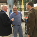 Congressman Glenn Grothman visits Plymouth Foam, Inc.
