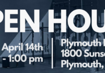 Plymouth CrossFit Open House – Saturday, April 14, 2018