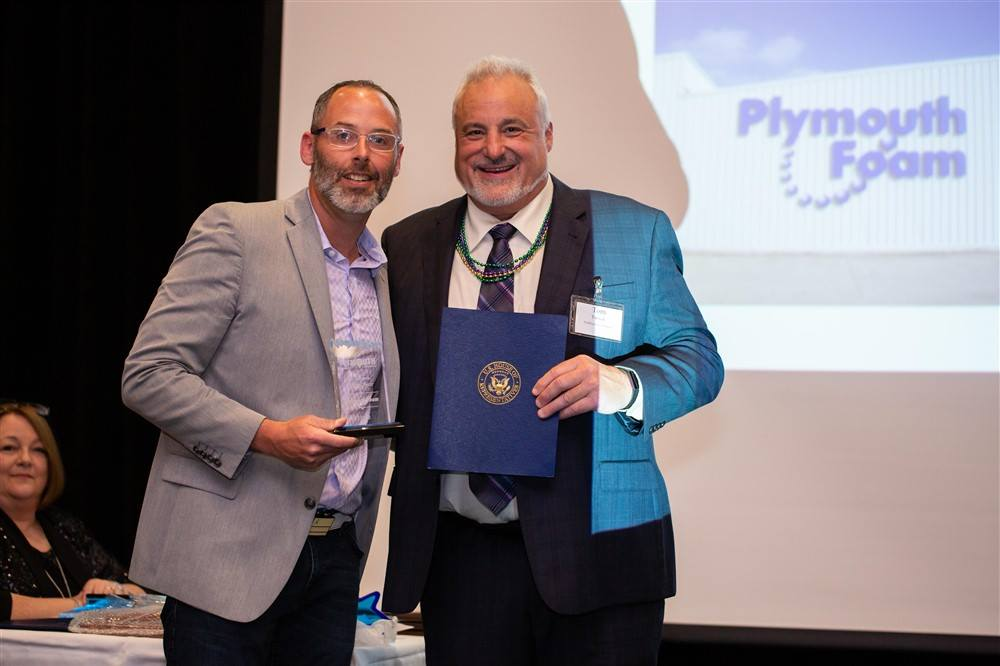 sports shoes b426c 69dcd Thank you, Plymouth Chamber of Commerce! : Plymouth Foam ...